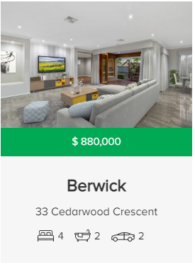 Property valuation Berwick VIC 3806