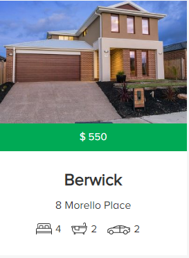 Rental appraisal Berwick VIC 3806